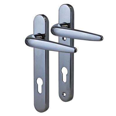 Trojan Sparta uPVC Multipoint Lever/Lever Door Handle - Chrome