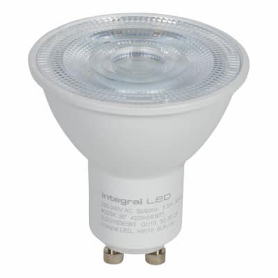 Integral LED 4.7W GU10 PAR16 Glass Spotlight Lamp - 2700K