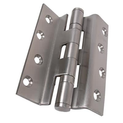 Rebated Storm Section Hinge - 100 x 3mm - Stainless Steel - Pair