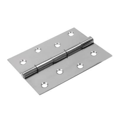 Steel Hinge - 100 x 67mm - Chrome - Pair