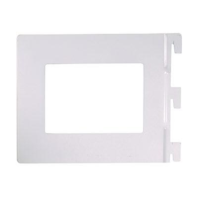 Altro Twin Slot Book End - 142 x 118mm - White