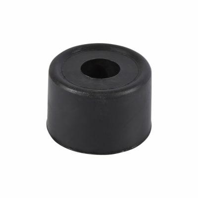 Touchpoint PVC Floor Door Stop - 33mm - Black - Pack 10