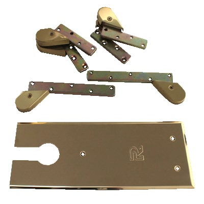 Rutland TS7000 Accessory Pack - Single Action - Polished Brass