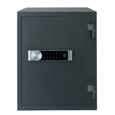 Yale Extra Large Fire Safe - 514 x 404 x 440mm - Grey