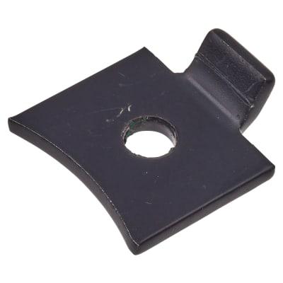 Altro Standard Flat Bookcase Clip - Black Powder Coated - Pack 10