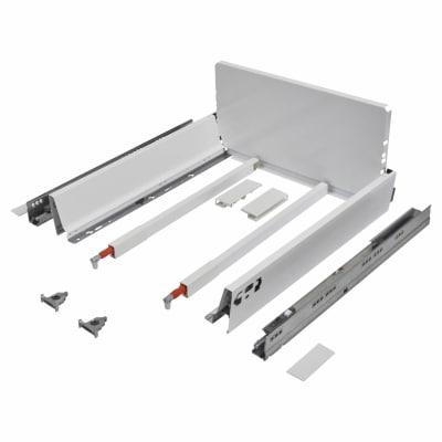 Blum TANDEMBOX ANTARO Pan Drawer - BLUMOTION Soft Close - (H) 203mm x (D) 270mm x (W) 450mm - White
