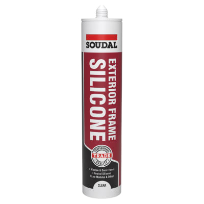 Soudal Exterior Frame Silicone - 270ml - Clear
