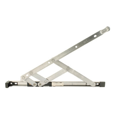 Restrictor Friction Hinge - uPVC/Timber - 13mm Stack - 24 inch / 600mm - Top Hung - Pair