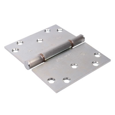Royde & Tucker (H102-B) Triple Knuckle Projection Hinge - 100 x 124 x 3mm - Zinc Plated - Pair