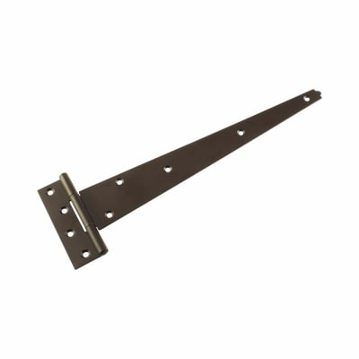 Strong Tee Hinge - 400mm - Brown