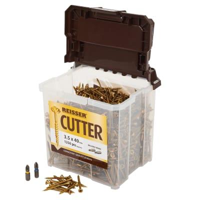 Reisser Cutter Tub - 3.5 x 40mm - Pack 1250