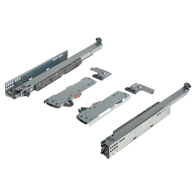 Blum TIP-ON (Touch to Open) BLUMOTION (Soft Close) Drawer Runner - 40kg - Full Extension - 500mm