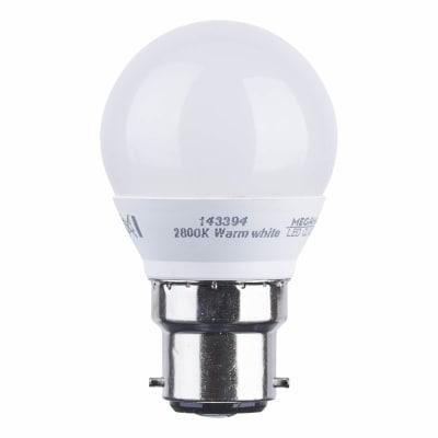 Megaman 3.5W BC LED Golf Ball Lamp - Warm White