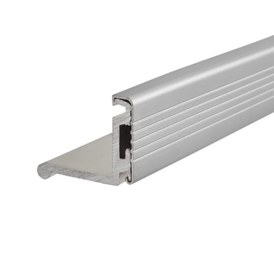 Sealmaster Cyclone Seal - 1000mm - CCS Trim Seal - Silver