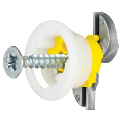 Grip It® Plasterboard Fixing - 15mm Hole - 4 x 25mm - Pack 8