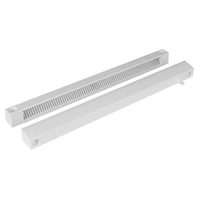 Slotvent 3000 S With Front Operation Switch - White - uPVC / Timber