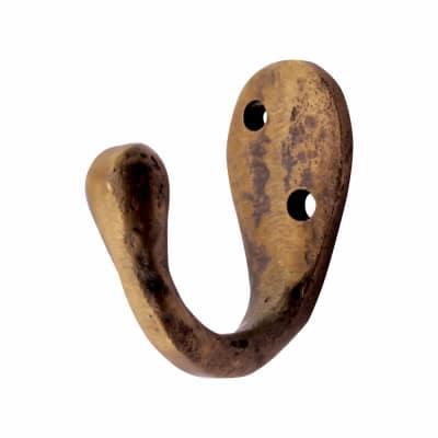 Louis Fraser Single Coat Hook - 42mm - Oil Rubbed Bronze