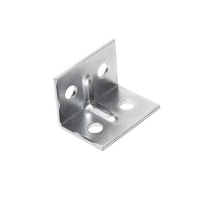 Angle Bracket - 29 x 20 x 20mm - Zinc Plated Steel - Pack 10