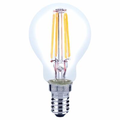 Integral LED 4W Mini Globe Filament Lamp - E14 - 2700K