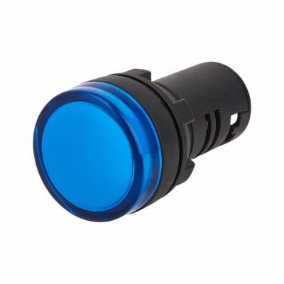 Lewden 22mm Pilot Light - Blue