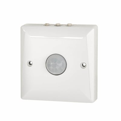 Danlers Wall Mounted Ceiling Occupancy Switch - White