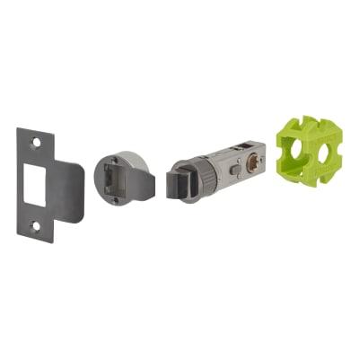 Jigtech Smartlatch Privacy Latch - 57mm Backset - Black Nickel