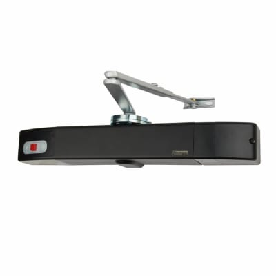 Agrippa Acoustic Fire Door Closer - Black