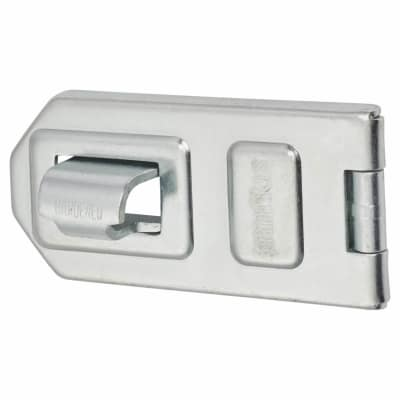 Discus Extra Strong Flexible Link Hasp & Staple - 118 x 56mm