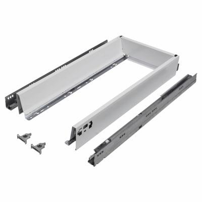 Blum TANDEMBOX ANTARO Drawer Pack - BLUMOTION Soft Close - (H) 84mm x (D) 650mm x (W) 400mm - White