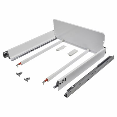Blum TANDEMBOX ANTARO Pan Drawer - BLUMOTION Soft Close - (H) 203mm x (D) 550mm x (W) 600mm - White