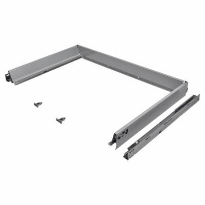 Blum TANDEMBOX ANTARO Drawer Pack - BLUMOTION Soft Close - (H) 84mm x (D) 650mm x (W) 1200mm - Grey