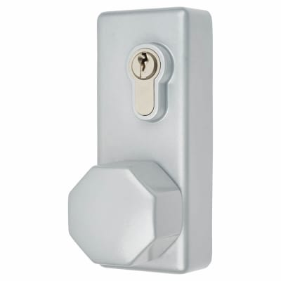 Arrone AR886K Outside Access Device - Hexagonal Turn - Silver