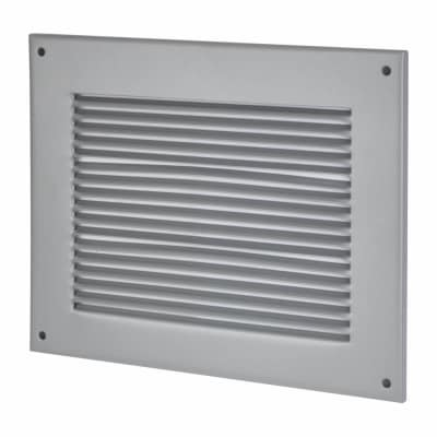 Vent Cover - 260 x 210mm to suit block 225 x 150mm - Silver