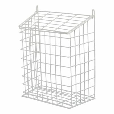 Letter Cage - 356 x 299 x 155mm - White Plastic Coated