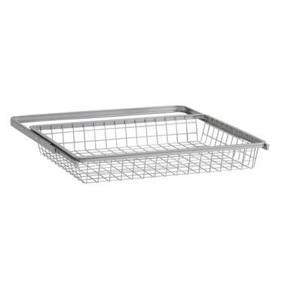 elfa® Basket and Frame - 610 x 440 x 85mm - Platinum