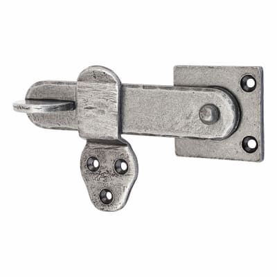 Olde Forge Privacy Latch - Pewter