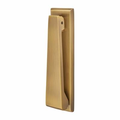 M Marcus Slim Door Knocker - 167 x 40mm - Antique Brass