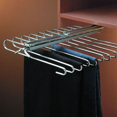 Slide Out Trouser Hanger - 470mm - Fixed