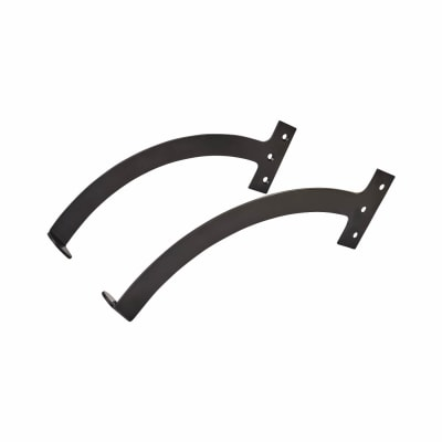Iron Quadrant Arm Stay - 250mm - Black