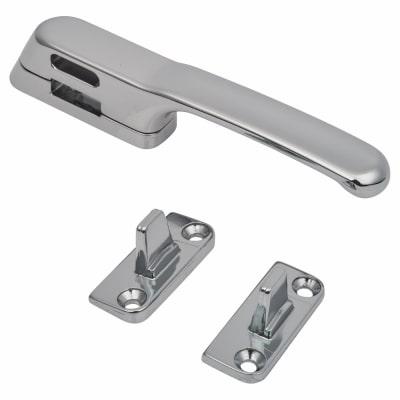 Fab & Fix Craftsman Casement Fastener Non Locking - Chrome