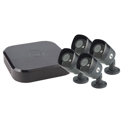Yale®Smart Home CCTV Kit - 4 Camera - Wired - 4MP - SV-8C-4AB4MX