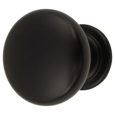 Cabinet Knob - Domed - 32mm Diameter - Matt Black