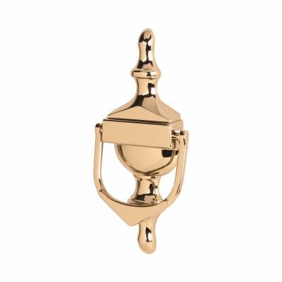 Victorian Urn Knocker - uPVC/Timber - 162 x 76mm - Hardex Gold