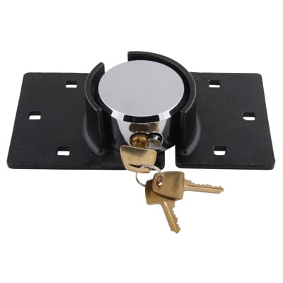 Vehicle & Container Padlock & Hasp - 210 x 150mm
