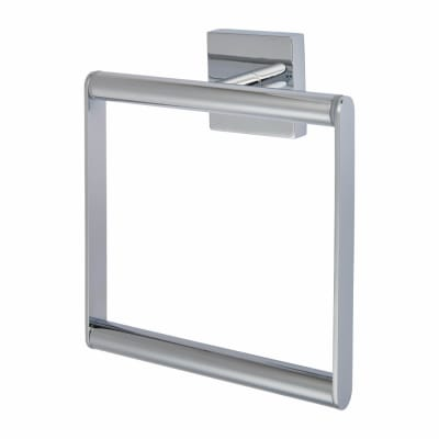 Croydex Chester Towel Ring - 170mm - Polished Chrome