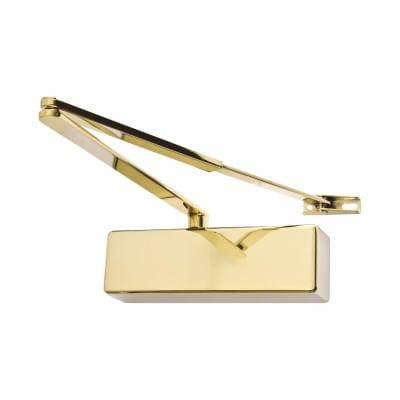 Rutland® TS3204 Door Closer - Brass Plated