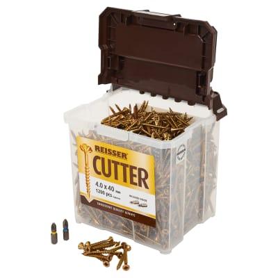 Reisser Cutter Tub - 4.0 x 40mm - Pack 1200