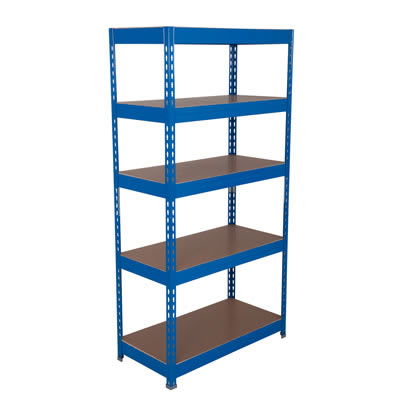 Rapid Budget Shelving - 175kg - 1760 x 900 x 600mm