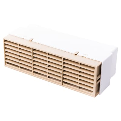 Rytons Multifix Air Brick with Adaptor for 204mm x 60mm Ducting - Sand