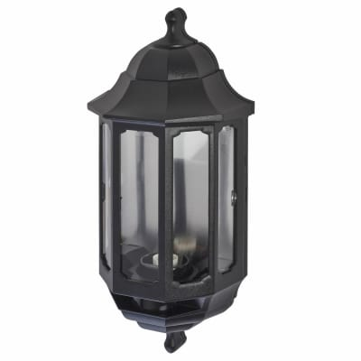 ASD Lighting Half Coach Lantern - Black